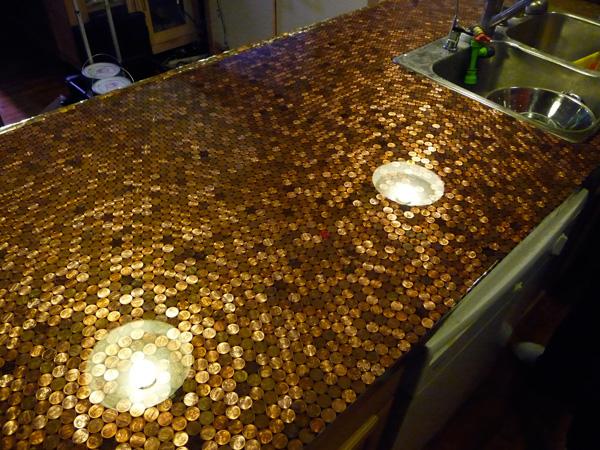 барплот с монети