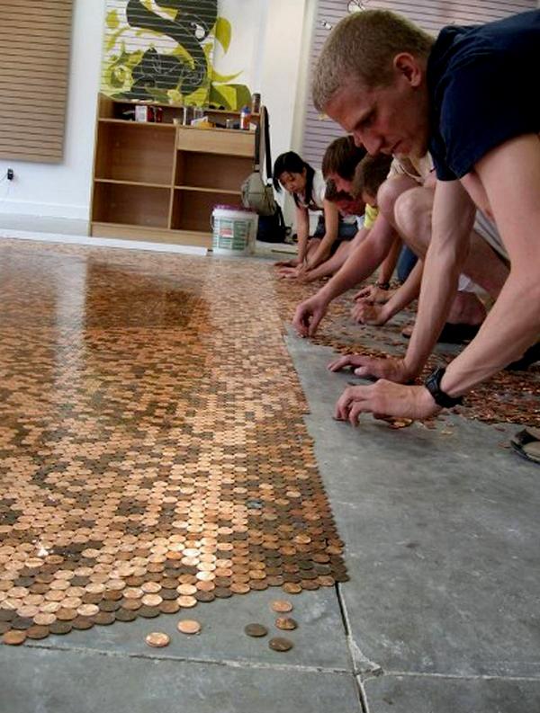 под напраен от монети