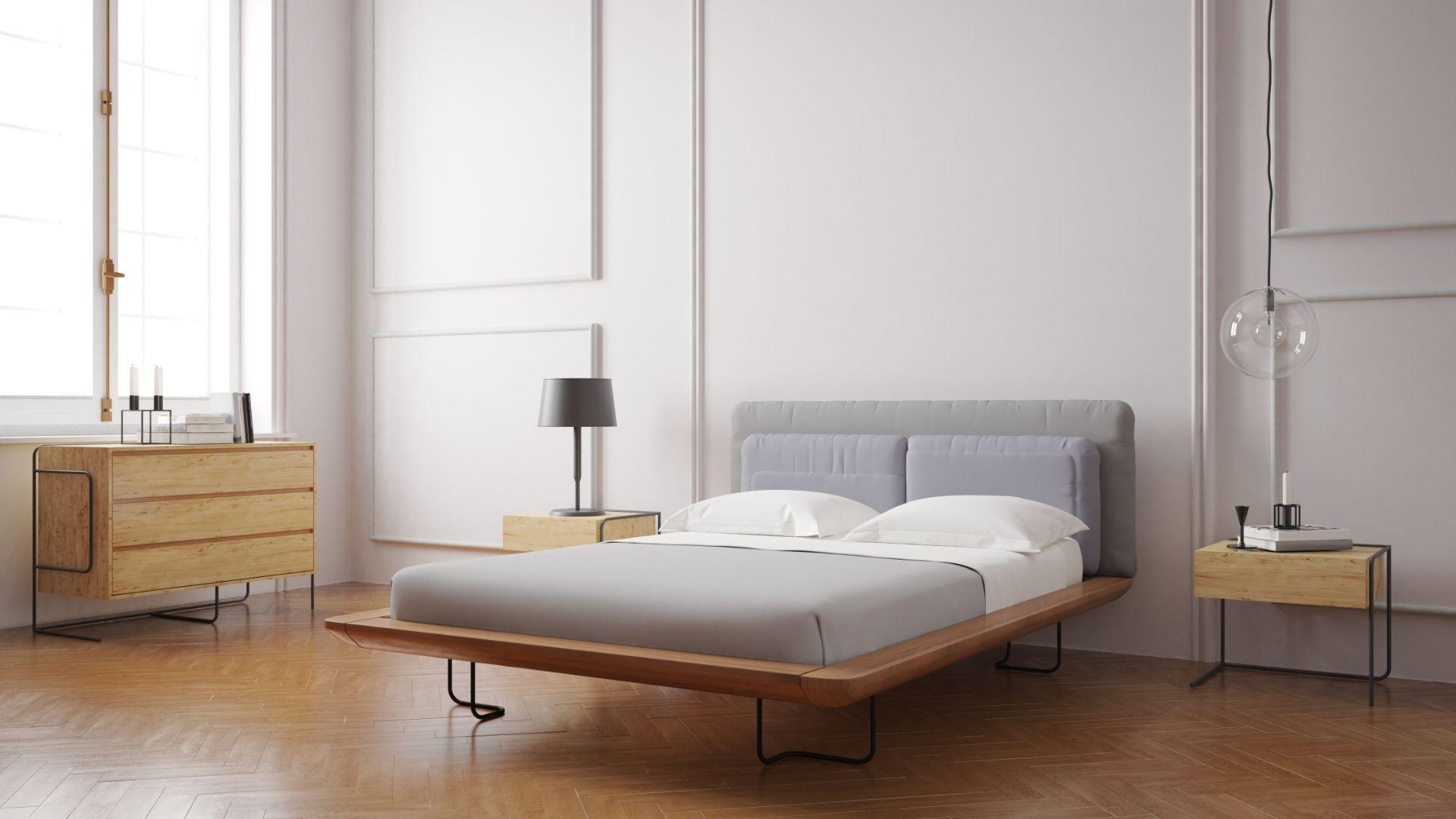 легло с метални елементи